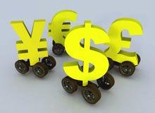 чернь ликвидности Стоковое Фото