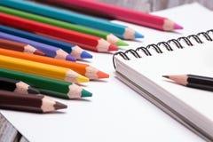 Чертегные инструменты - pensils Стоковое фото RF