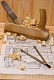 чертегный инструмент Стоковая Фотография