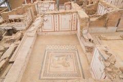 Чертежи в домах террасы, древнем городе Ephesus Стоковая Фотография RF
