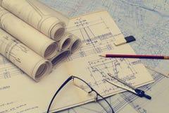 чертежи технические стоковые изображения