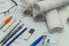 чертежи технические стоковые изображения rf