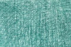 Чертежи crayon бирюзы на белой текстуре предпосылки Стоковые Фотографии RF