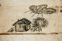 чертежный стол Стоковые Фото
