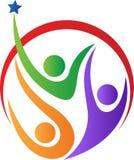 Логос людей Стоковые Фотографии RF