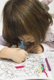 Чертеж детства Стоковое Изображение RF
