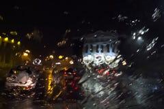 чертеж дождя Стоковая Фотография RF