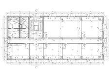чертеж конструкции Стоковые Изображения RF