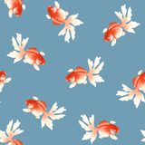 Чертеж от руки, картина рыб японского стиля