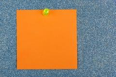 чертеж предпосылки голубой изолировал красный цвет столба штыря примечания померанцовый Стоковое Изображение RF
