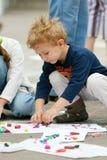 чертеж ребенка стоковые изображения rf