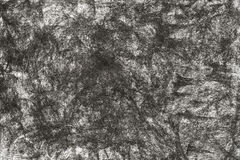 Чертеж угля на бумажной предпосылке текстуры Стоковые Фото