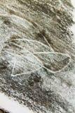 Чертеж угля Стоковая Фотография RF