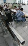 Чертить студента стоковое изображение rf