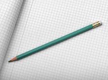 чертя карандаш диаграммы Стоковая Фотография RF