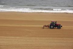 чесальщик пляжа Стоковые Изображения RF