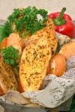 чеснок хлеба Стоковое Изображение RF