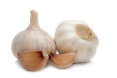 чеснок, чеснок малый, макрос чеснока, gralic естественное, белизна garilc, g Стоковая Фотография RF