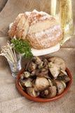 чеснок champignon Стоковая Фотография
