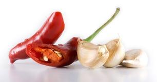 чеснок chili Стоковые Изображения