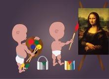 Честолюбивое kids-4 иллюстрация вектора