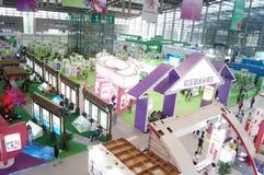 Четвертая встреча выставки обменом проекта призрения Китая в конвенции и выставочном центре Шэньчжэня Стоковые Изображения