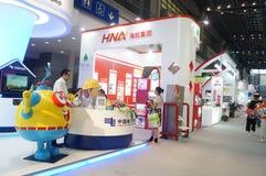 Четвертая встреча выставки обменом проекта призрения Китая в конвенции и выставочном центре Шэньчжэня Стоковая Фотография RF