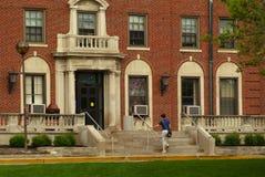 четверти кампуса живущие стоковое изображение