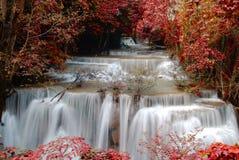 Четвертый пол huay водопада kamin mae Стоковое фото RF