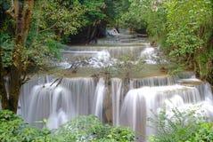 Четвертый пол huay водопада kamin mae Стоковые Фотографии RF