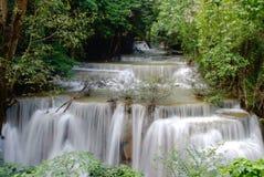 Четвертый пол huay водопада kamin mae Стоковые Изображения