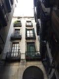 четверть майны светильника barcelona готская Стоковое Фото