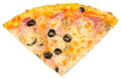 четверть пиццы стоковая фотография