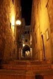 четверть стародедовского jerusale переулка еврейская стоковое фото rf