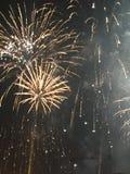 Четверть фейерверков в июле в Нашвилле Теннесси Стоковые Фотографии RF