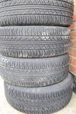 Четырехколесный привод Резиновые автошины Резина лета установленная для автомобиля Стоковые Фото