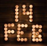 Четырнадцатое -го февраль, романтичный знак Writt даты дня валентинки Стоковое Изображение RF