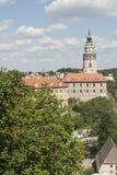 Чехия Европа cesky krumlov замка Стоковое фото RF