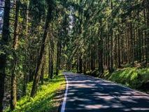 Чехия дороги Стоковое фото RF