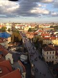 Чехия, Прага, старый городок Стоковое фото RF
