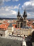 Чехия, Прага, старый городок Стоковое Фото