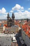 Чехия Прага Veiw на центре города стоковая фотография rf