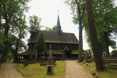 Чехия - Broumov стоковое изображение