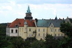Чехия, ¡ j Hruba Skal- Cesky RÃ замка Стоковые Изображения RF