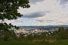 Чехия - Jablonec nad Nisou и окрестности стоковые изображения