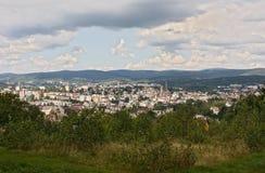 Чехия - Jablonec nad Nisou и окрестности стоковое изображение rf
