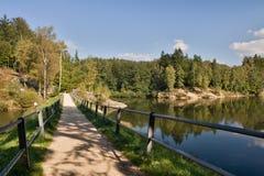 Чехия - Jablonec nad Nisou и окрестности стоковая фотография