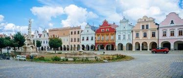 Чехия - ` 1 Telc стоковое фото rf