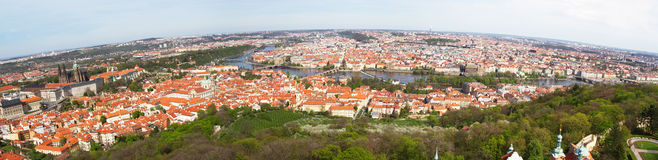 чехословакская республика prague панорамы Стоковые Изображения