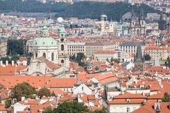 чехословакские верхние части крыши республики prague Стоковая Фотография RF